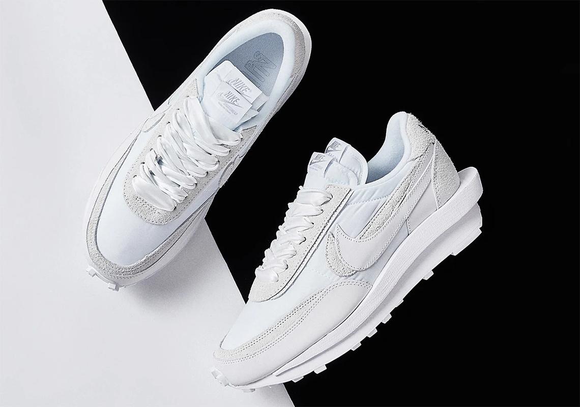 sacai Nike LDWaffle White Nylon BV0073