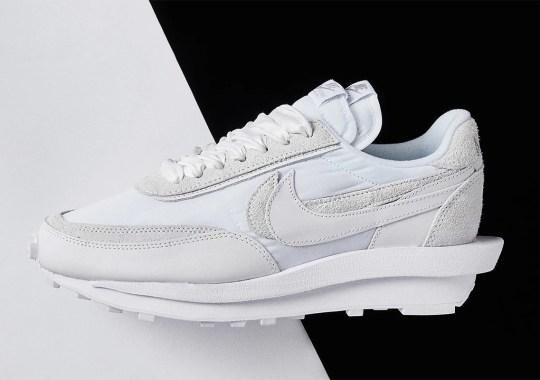 Where To Buy The sacai x Nike LDWaffle White Nylon