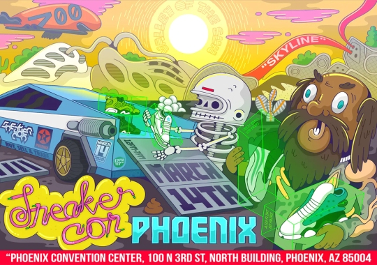 The First US Sneaker Con Of 2020 Is Going Down In Phoenix [UPDATE: Postponed]