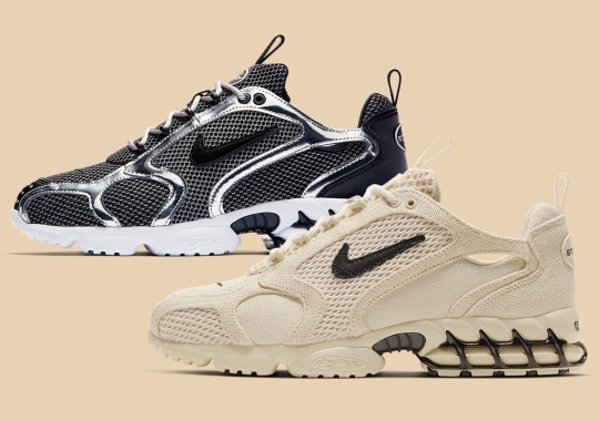 Official Images Of The Upcoming Stussy x Nike Caged Zoom Spiridon