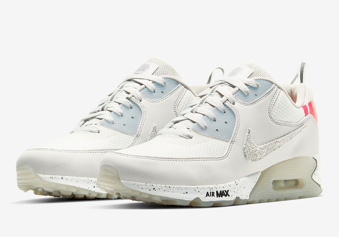 Undefeated Nike Air Max 90 White Blue Black Release Info