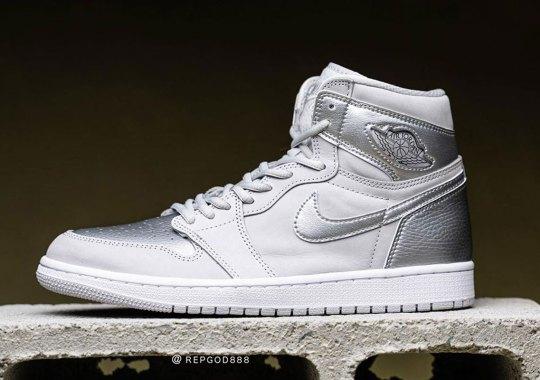 "Detailed Look At The Air Jordan 1 Co.JP ""Neutral Grey"""