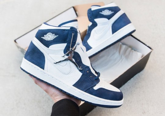 "The Air Jordan 1 ""Midnight Navy"", The 2001 Japan Exclusive, Is Returning Later This Year"