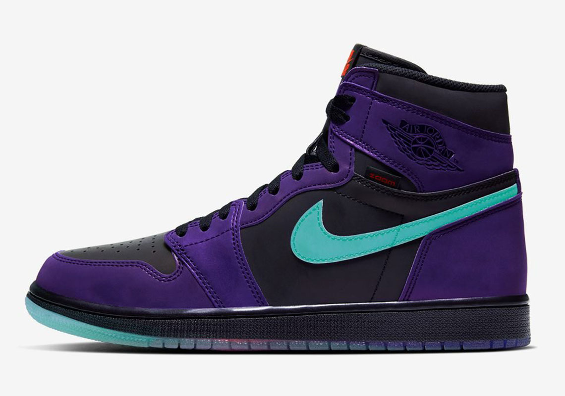 "Air Jordan 1 High Zoom ""Court Purple"" Revealed: First Look"
