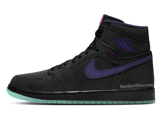 "Air Jordan 1 High Zoom ""Court Purple"" Set For Fall 2020 Release"