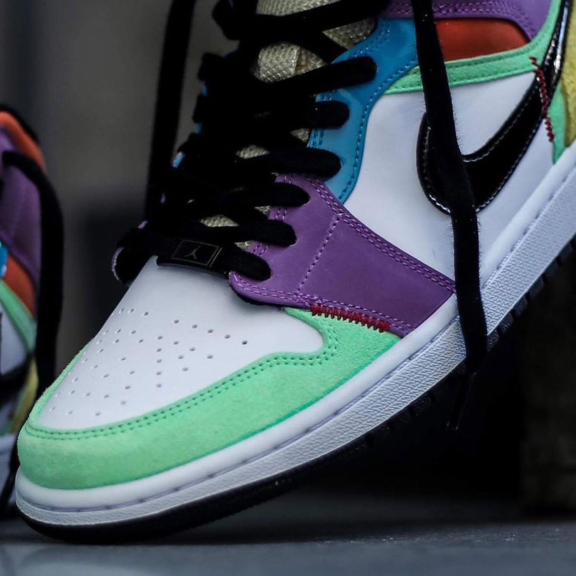 Air Jordan 1 Mid Se Lightbulb Multicolor Release Date