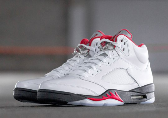 "The Air Jordan 5 OG ""Fire Red"" Releases Tomorrow"