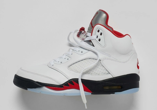 "Where To Buy The Air Jordan 5 OG ""Fire Red"""