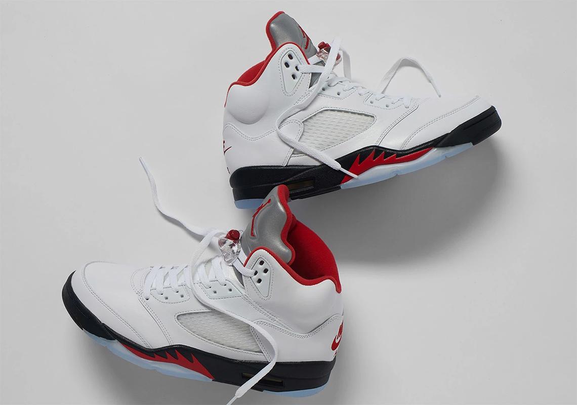 Air Jordan 5 Fire Red 2020 Store List
