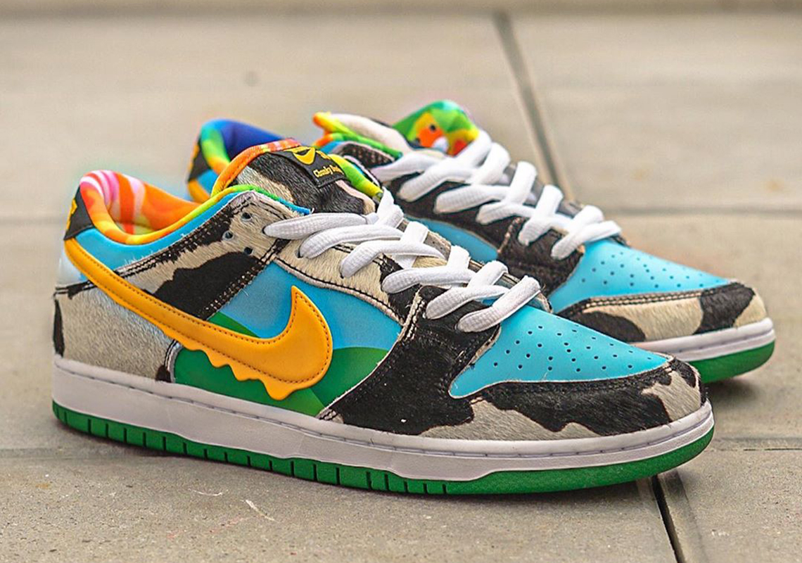 Ben And Jerrys Nike SB Dunk Low Chunky Dunky | SneakerNews.com