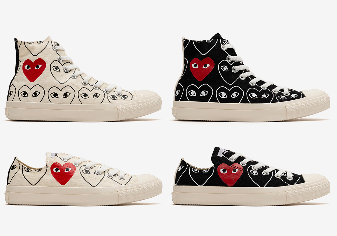 all star converse cdg play