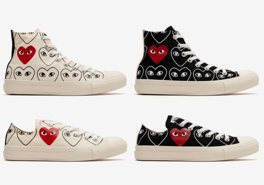 All-Over Print Logos Outfit The CDG PLAY x Converse Chuck Taylor All Stars