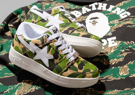 CONCEPTS Drops An Exclusive Batch Of BAPE Spring 2020 Footwear