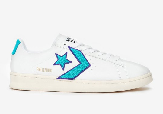The Converse Pro Leather Ox To Feature Oversized Chevrons In Chenille