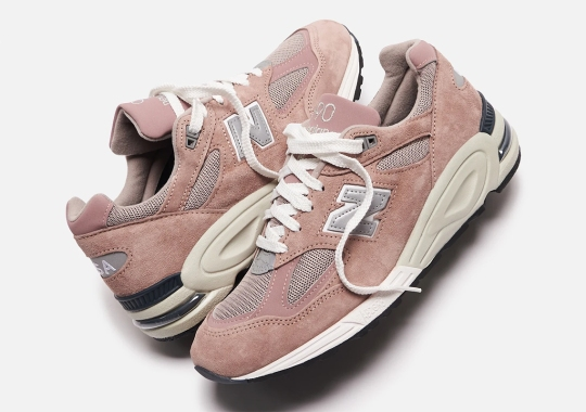 KITH's New Balance 990v2 In Dusty Pink Is Completely Sold Out