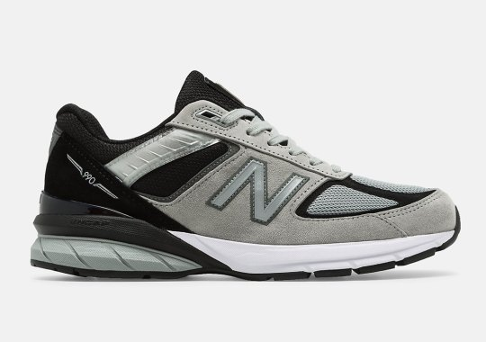 The New Balance 990v5 Made In US Arrives In Greyscale