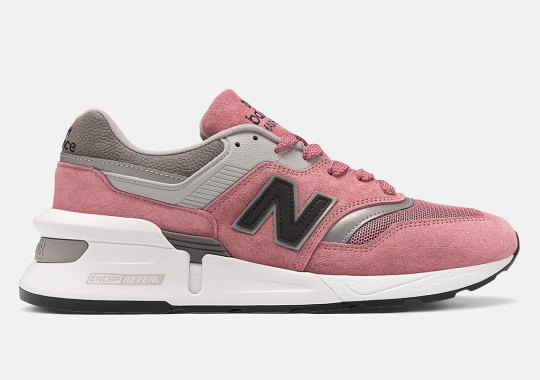 The New Balance 997S Appears In A Colorway Similar To Concepts' Rosé