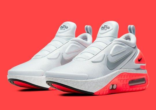 "Where To Buy The Nike Adapt Auto Max ""Pure Platinum"""