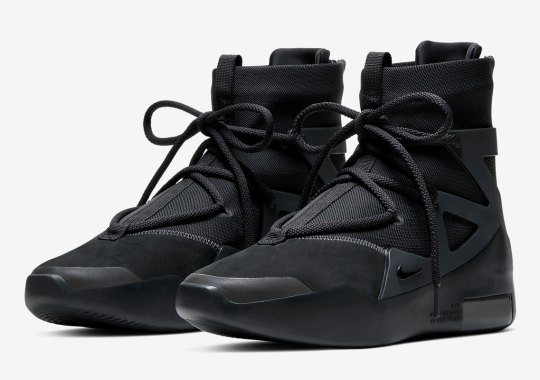 "Where To Buy The Nike Fear Of God 1 ""Triple Black"""