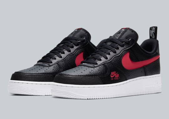 "The Nike Air Force 1 Low Appears In Fan-Favorite ""Bred"""