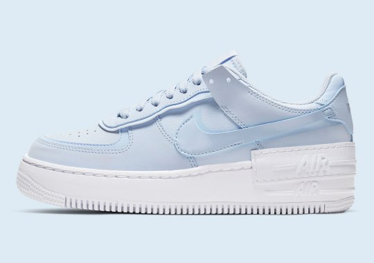 "Nike Casts ""Hydrogen Blue"" On The Air Force 1 Shadow"