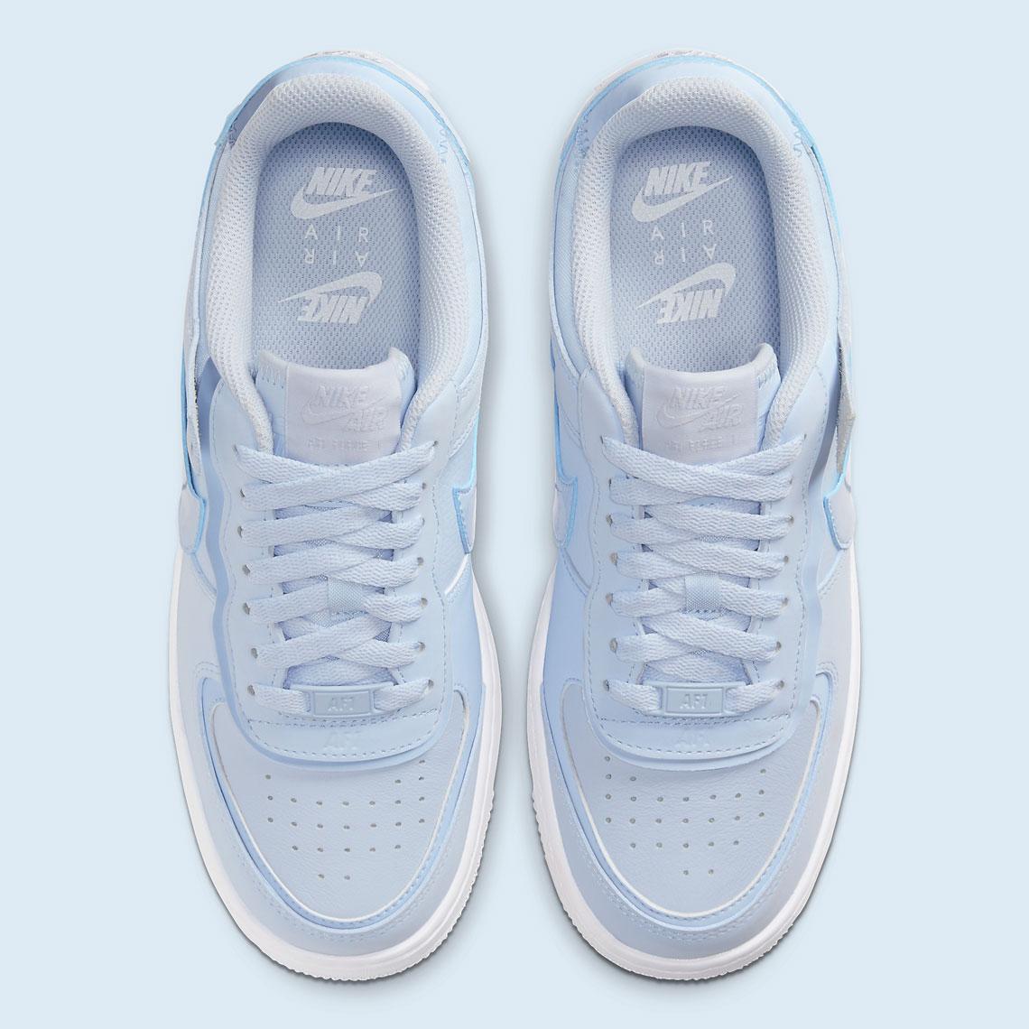 Nike Air Force 1 Shadow Hydrogren Blue CV3020-400   SneakerNews.com
