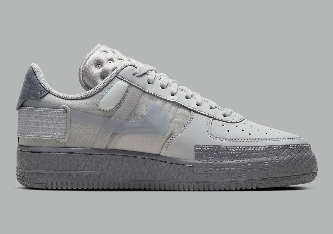 Nike Air Force 1 Type Grey Fog CT2584