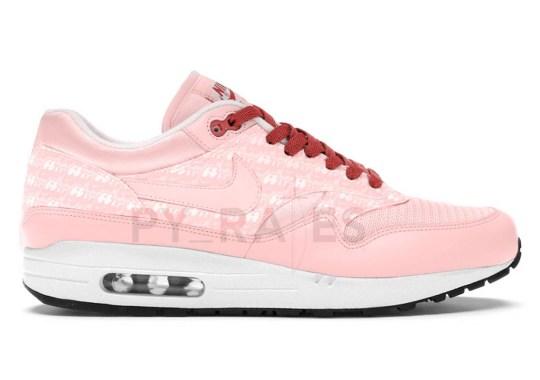 "The Nike Air Max 1 ""Powerwall"" Set To Arrive In A ""Pink Lemonade"" Colorway"