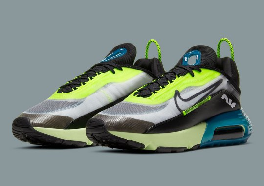 Nike Energizes The Air Max 2090 With Volt And Blue Force