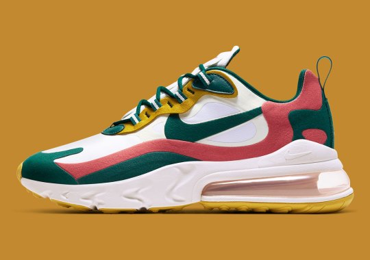 Nike Puts An Italian Spin On The Air Max 270 React