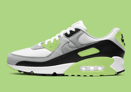 The Nike Air Max 90 OG Gets Touched With Bright Mossy Green