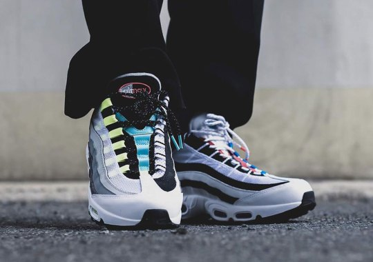 Nike Brings Back The Air Max 95 Greedy, A Remix Of OG Colorways