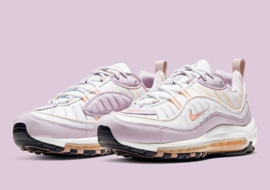 The Nike Air Max 98 For Women Arrives In Atomic Pink And Crimson Tint