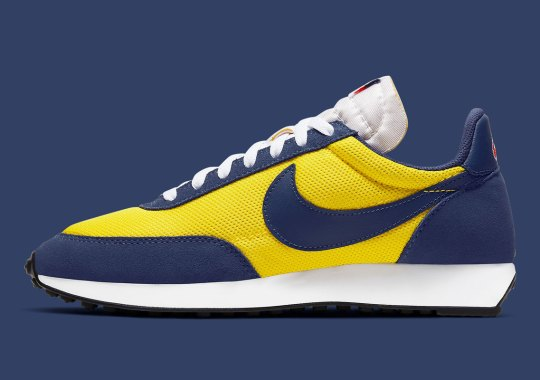 The Nike Air Tailwind 79 Appears In Michigan Wolverine Colors