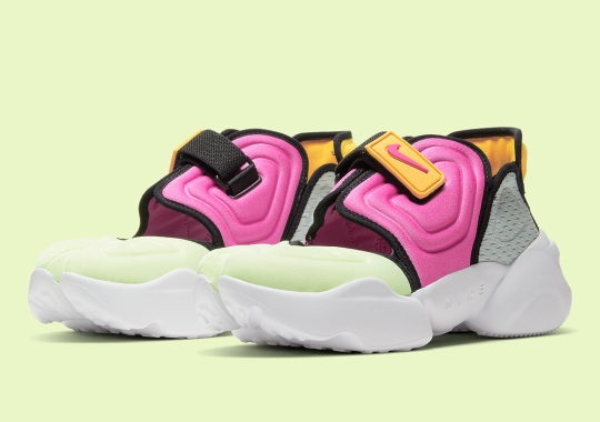 The Women's Nike Aqua Rift Introduced In Another Multi-Colored Option