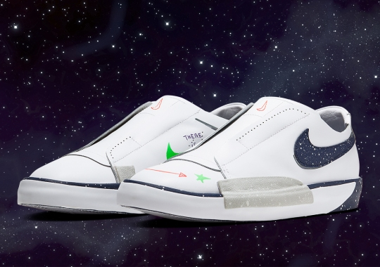 """Nike Basketball's """"Planet Of Hoops"""" Collection Ushers In A Recrafted Blazer Slip"""
