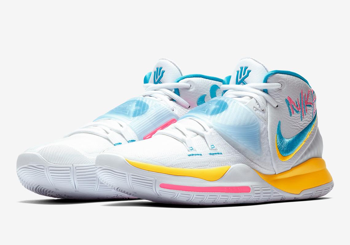 Nike Kyrie 6 Blue Fury BQ4630-101