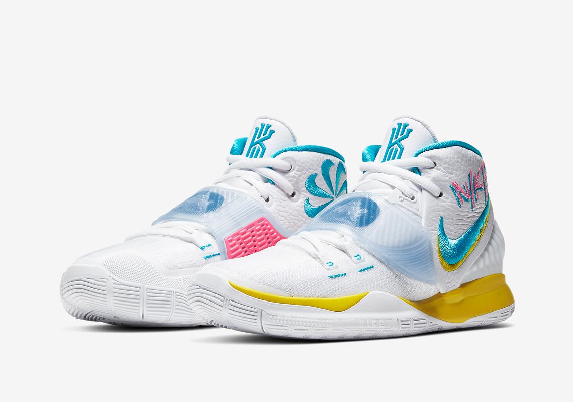 Nike Kyrie 6 Blue Fury BQ4630-101 Release Date | SneakerNews.com