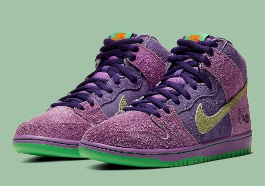 "Nike SB Dunk High ""420"" Flips The Classic ""Skunk Dunks"""