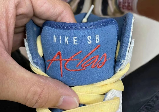 """Nike SB Dunk High """"Atlas"""" Revealed With Reworked Tongue"""