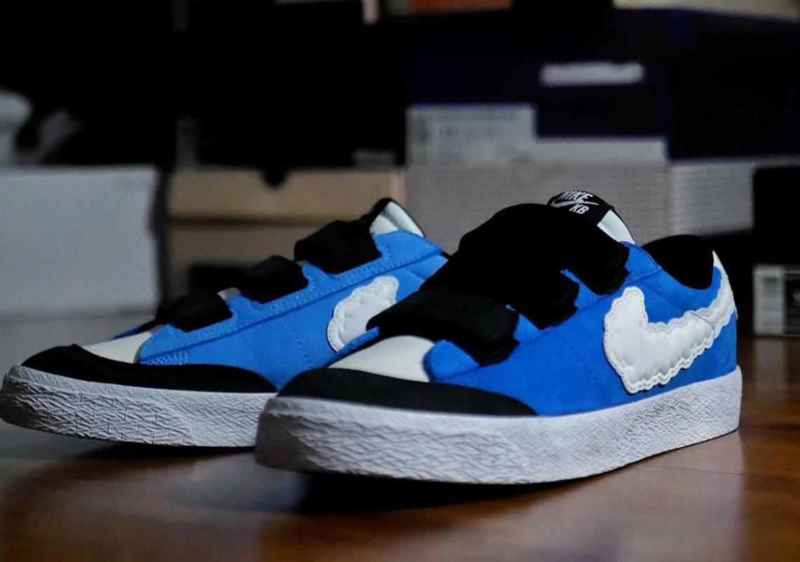 cocodrilo Preguntarse conciencia  Kevin Bradley Nike SB Blazer Low Kevin and Hell Release Info |  SneakerNews.com