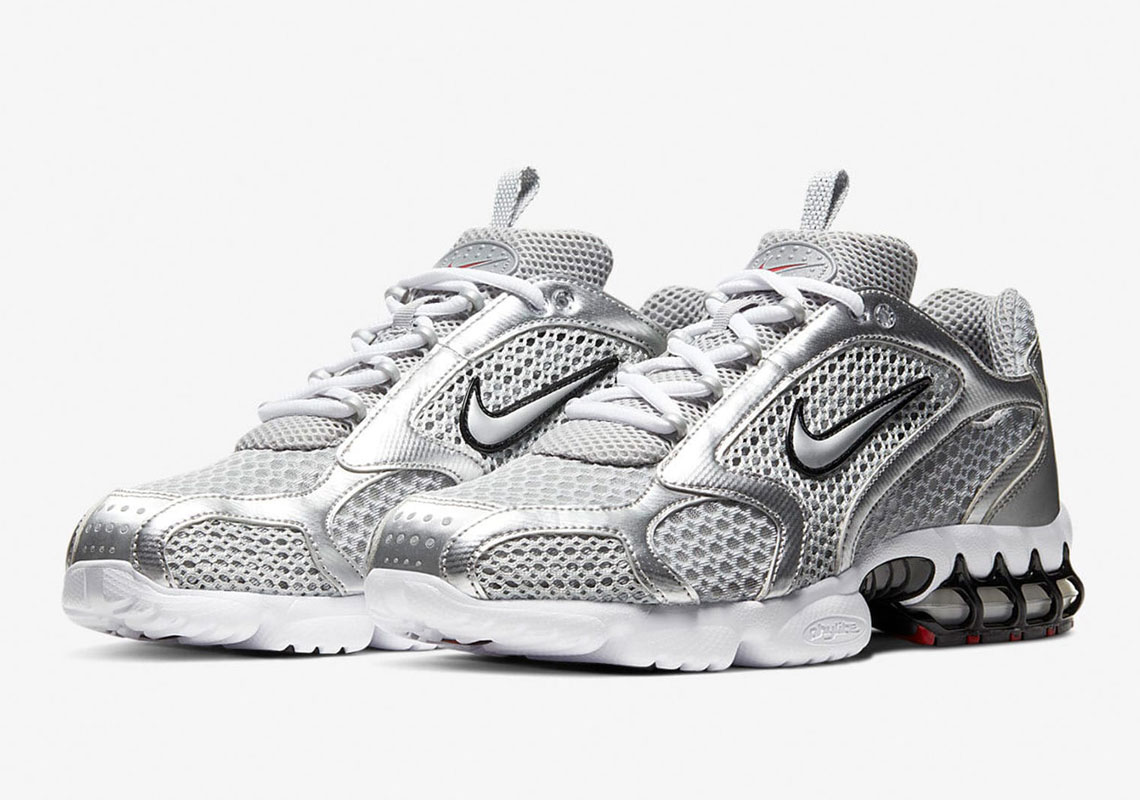 lavabo Práctico Oferta de trabajo  Nike Zoom Spiridon Cage 2 Metallic Silver | SneakerNews.com