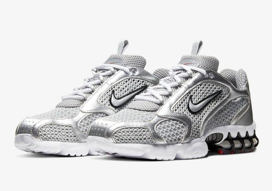 "Where To Buy The Nike Zoom Spiridon Caged 2 ""Metallic Silver"""