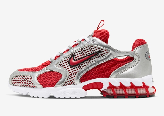 "Where To Buy The Nike Zoom Spiridon Caged 2 ""Track Red"""