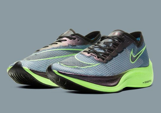 """Nike's Almost-Banned ZoomX Vaporfly NEXT% Is Coming Soon In """"Valerian Blue"""""""