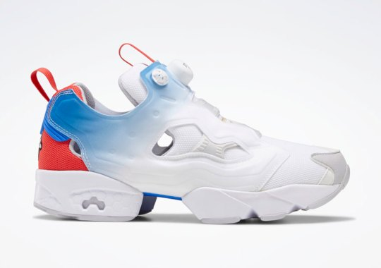 The Reebok Instapump Fury OG Gets A Heavenly Gradient Fade On The Pump Bladder