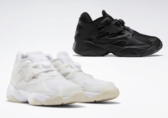 The Reebok Pump Court Tones It Down With Two Monochromatic Colorways