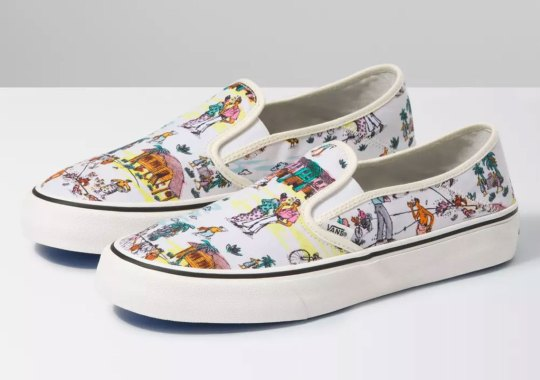 Malaysian Artist Kide Baharudin Brings His Home Country To Vans' Slip-On And Authentic