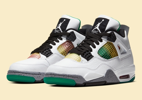 "Official Images Of The Air Jordan 4 Womens ""Do The Right Thing"""