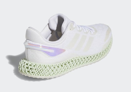 The adidas 4D Run 1.0 Arrives With Iridescent Heel Clips